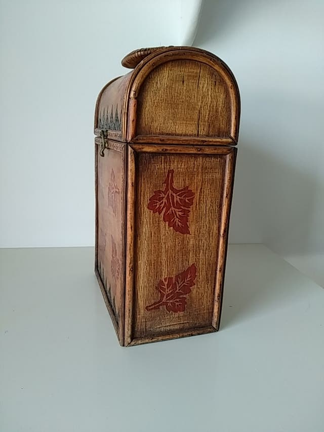 Caja para botellas de vino