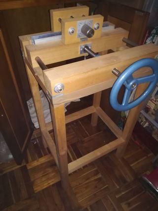 Encuadernación ingenio completo + prensa de cajos