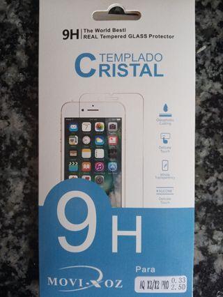 Cristal templado BQ AQUARIS X2/X2 PRO