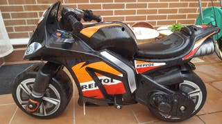 Moto Repsol Wind XL eléctrica de puño 6 w