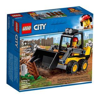 LEGO City Vehicles -Retrocargadora-NUEVO