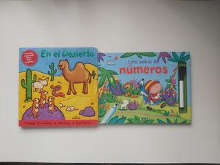2 libros infantiles para jugar y aprender
