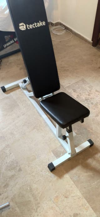 banco de pesas inclinable