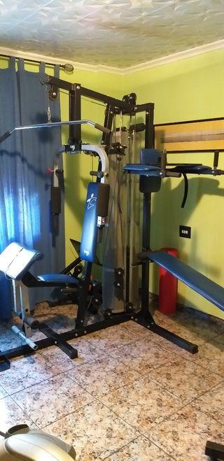 Máquina Multifunción OFERTON para musculación