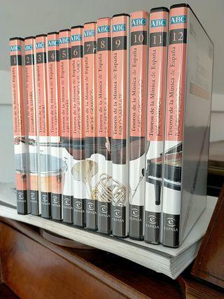 colección completa 12 CD's Música Clásica España