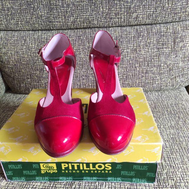 Zapatos salón PITILLOS. Sandalias