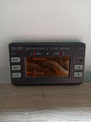 Metrónomo digital musedo MT-40