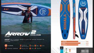 TABLAS PADDLE SURF ARROW 2