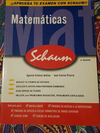 Matemáticas Schaum