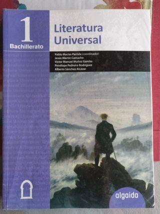Libro Literatura Universal 1°Bach