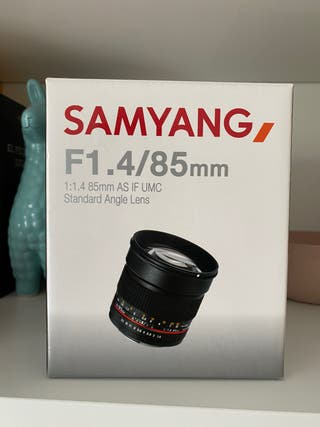 Objetivo Samyang nuevo