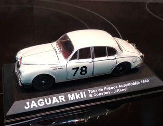 Jaguar MkII Rallye escala 1/43