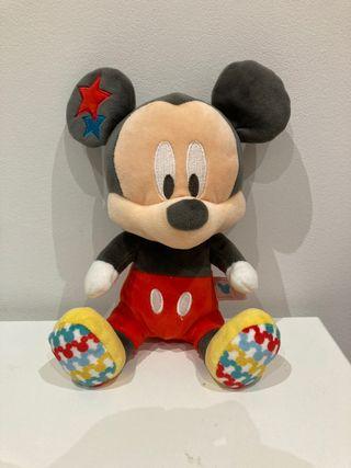 Sonajero Mickey de peluche