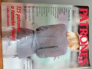 Revista Patrones antigua n. 23 primavera-verano