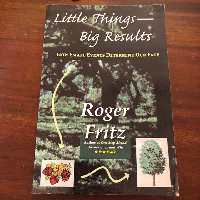 Little Things Big Results by Roger Fritz Book