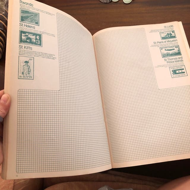 Stanley Gibbons Postbox Stamp Album Book