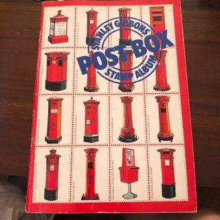 Stanley Gibbons Postbox Stamp Album Book