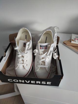 zapatillas cuña converse