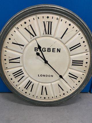 Reloj decorativo de pared (efecto vintage)