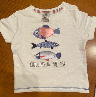 Camiseta bebé Charanga