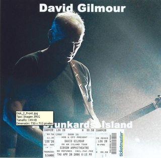DAVID GILMOUR - DRUNKARDS ISLAND, 2006 (2CD)
