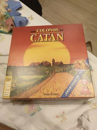 juego de mesa colonos de Catán