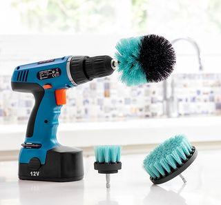 Set de cepillos de limpieza para TALADROS