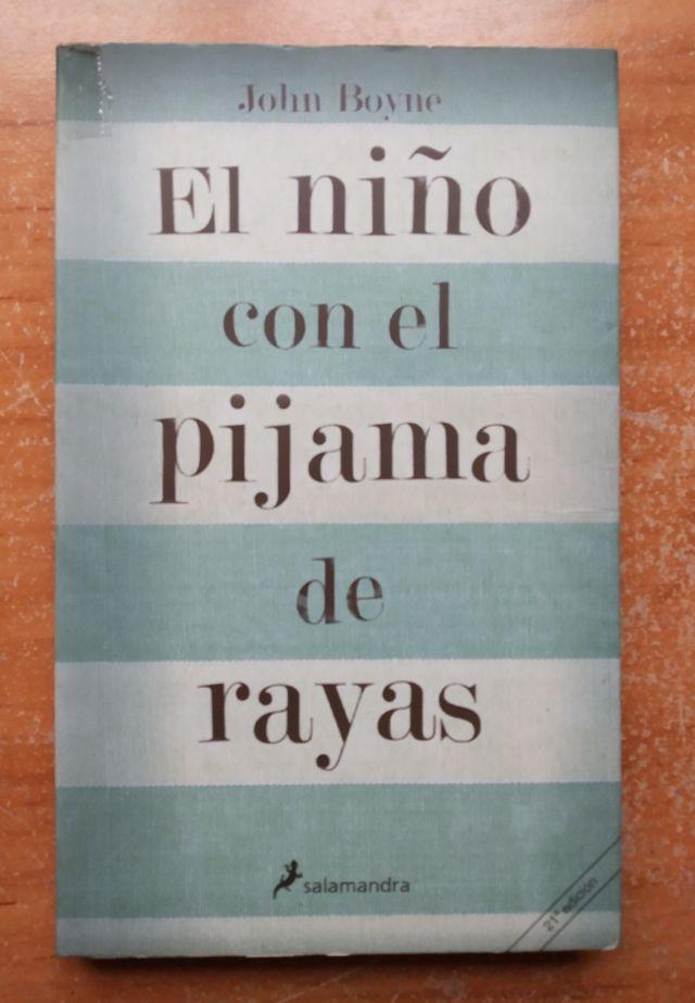 libro : El niño con el pijama de rayas.