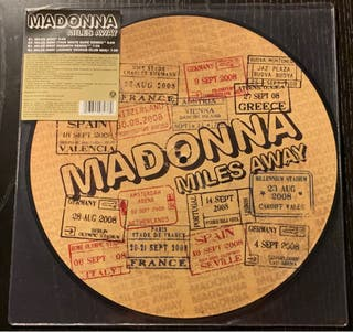 """Madonna Miles Away Picture Disc 12"""""""