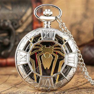 Reloj bolsillo araña