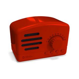 Altavoz Retro con Radio Bluetooth iwotto