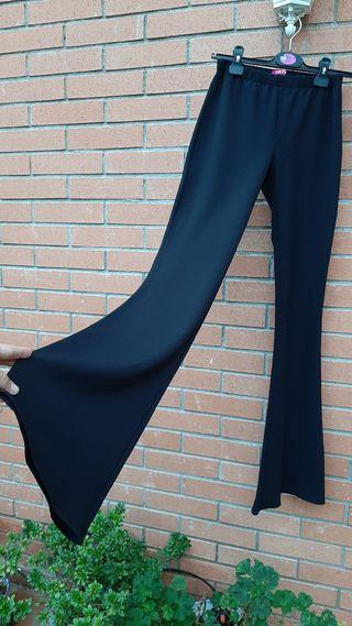 Pantalón boho negro