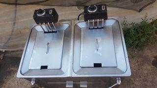 freidora industrial eléctrico movefri