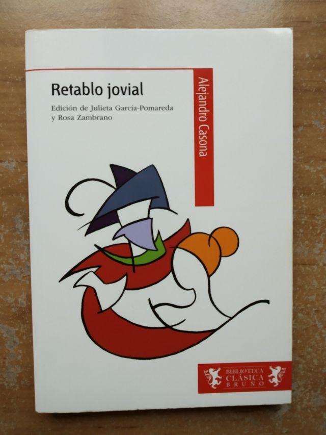 Libro : retablo jovial , de Alejandro Casona .
