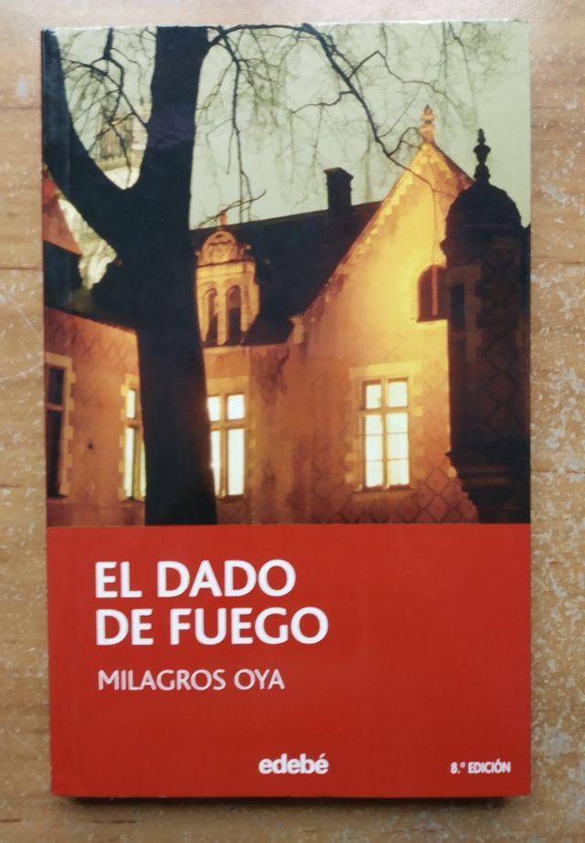 libro : El dado de fuego de Milagros Oya .