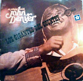 Disco vinilo John Denver
