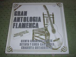 DISCO GRAN ANTOLOGÍA FLAMENCA