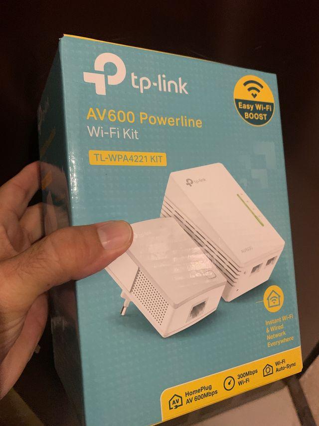 PLC TP-Link TL-WPA4221 AV600 Powerline Wifi nuevo