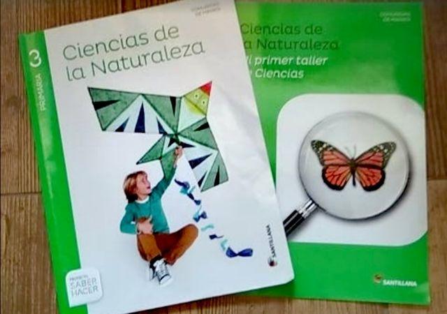 Libro 3 primariaCiencias Naturaleza Santillana