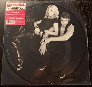 """Madonna 4' Picture Disc 12"""" Vinilo"""