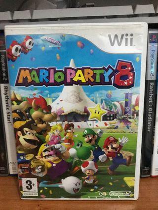 Mario party 8 Wii o Wiiu