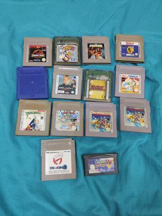 lote 15 juegos game boy gameboy cartuchos