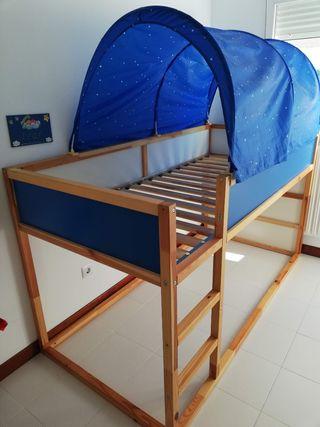 cama kura ikea / litera montessori