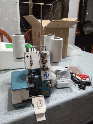 Máquina de coser Overlock de 3 hilos NUEVA