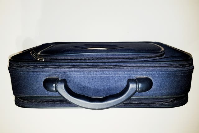 """Maleta maletín rígido azul para portátil 14"""""""