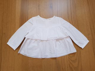 Camisa bebé 9-12 meses Zara
