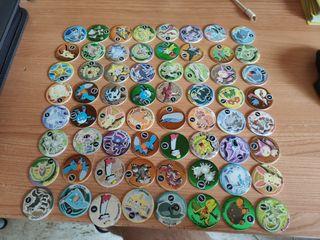 68 tazos pickers pokemon