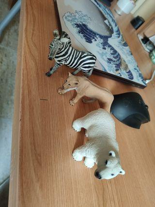 figuras schleich originales animales