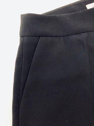 Pantalón pinzas negro