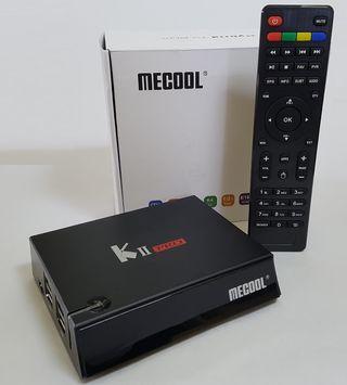 Mecool KII Pro - TV Box con satélite y TDT